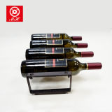 Eenvoudige Assemblage 4 het Rek van de Wijn van de Draad van het Ijzer van de Fles voor Staven