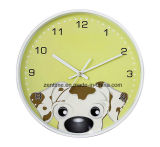 Diversas clases de animales venden al por mayor alrededor del reloj de pared para los niños