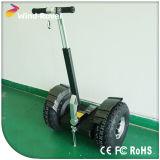 Grosses Rad elektrisches Vehichle, das elektrischen Bewegungsroller des Roller-2400W Selbst-Balanciert