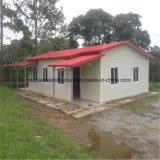 Casa prefabricada de la estructura de acero para Paraguay