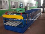 Rolo da camada dobro de telha de telhadura 836+840 que dá forma à máquina