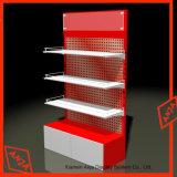 Melaton MDF Display Shelf Slatwall para loja