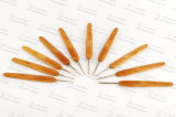 Alta qualità dell'amo di Crochet con la maniglia di bambù