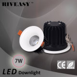 7W 01 LED Downlight mit PFEILER LED Deckenleuchte Sportlight