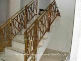Sicheres Edelstahl-Treppenhaus-Handlauf-Geländer des Schutz-304