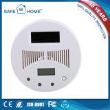 Detetor de monóxido de carbono da fonte da célula solar do LCD auto para a cozinha