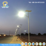 Luz LED de rua de 8 m 60W com painel solar