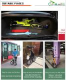 E-Bici plegable del acero de carbón de 14 pulgadas