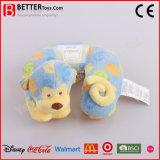 연약한 원숭이 아기 아이를 위한 U 자 모양 목 베개 견면 벨벳 베개