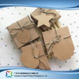 Contenitore di regalo impaccante sveglio dei monili della carta kraft Con gli accessori (xc-pbn-025D)