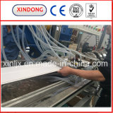 El panel de pared de la máquina de la protuberancia del techo del PVC que hace la máquina