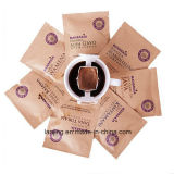 Sacchetto di caffè diritto risigillabile dei sacchi di carta della stampa su ordinazione all'ingrosso con la valvola