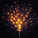 정원 LED 별 작은 잔가지 나무 빛 훈장