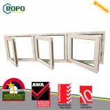 Australian Standard As2047 PVC Profile French Windows avec As2208 Glass