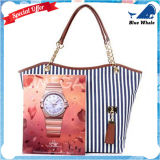 Whosale! 女性Bw1721のための最下の価格2016の方法キャンバスのハンドバッグ