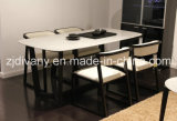 Cadeira de couro da sala de jantar de madeira americana da cadeira do estilo (C-56)