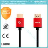 Hoge snelheid van de Kabel 1.4/2.0V HDMI van Wholesales 24k de Gouden voor 3D/4k/HDTV/PS31080P/2160p