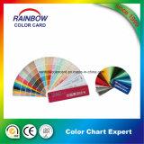 Tarjeta estándar de Fandeck del color para la pintura de la capa de la configuración