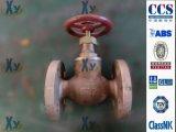 Válvula de verificação de bronze marinha JIS de Sdnr do globo F7409 F7410 16k