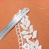 安い刺繍のレースファブリックドバイのウェディングドレスのレースの製造者