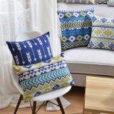 Cuscino di manovella di tela personalizzato dell'alzavola del cotone di sconto per il sofà
