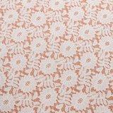 Платье Knit сетки ткани шнурка простирания, ткань оптовой продажи уравновешивания шнурка