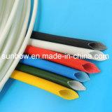 Fibra de vidrio del silicón de la aprobación de la UL que envuelve para el harness de cableado Proetction