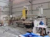حجارة جسم لوح [كتّينغ مشن] مع فولاذ حامل قفص طابق سفلي ([هق700])