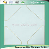 Красивейшая коррозионная устойчивость картины и потолок сопротивления грязи полимерный - камень золота с серебряной линией
