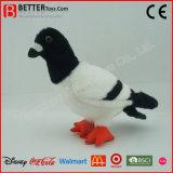 Jouet mou réaliste de colombe de peluche de peluche de jouet d'ASTM pour des gosses