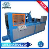 Máquina de acero usada de la limpieza del alambre del grano del neumático que quita la máquina de gráfico de máquina
