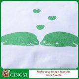 Prix bas de Qingyi Factroy et meilleure qualité de transfert de vinyle de la chaleur de scintillement pour le vêtement