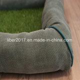 Ammortizzatore di plastica del cane della stuoia del prato inglese dell'assestamento del gatto del cane di animale domestico del materasso della gomma piuma dei prodotti dell'animale domestico