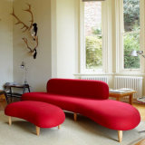 Modernes Freizeit-Kiesel-Sofa-und Mond-Sofa-kreatives Sofa-gesetztes Gewebe-Sofa