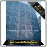 Il taglio del laser riveste la parete di pannelli divisoria di alluminio esterna decorativa della lamiera sottile