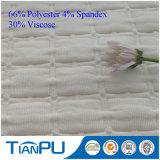 Tela hecha punto viscosa vendedora superior del telar jacquar para el colchón