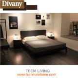 Bed Van uitstekende kwaliteit van het Leer van Divany het Moderne