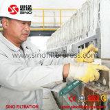 Máquina de la prensa del filtro hydráulico, prensa de filtro ahuecada membrana del compartimiento