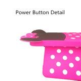 Оптовая продажа случая сотового телефона крышки мобильного телефона шаржа силикона Минни (DS-005)