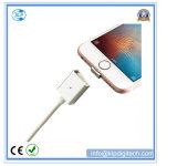 O cabo magnético o mais novo do USB com dados transmite para o iPhone