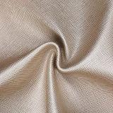 Cuir synthétique de PVC d'usine de texture en cuir de contre-taille pour le sac à main