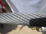 Boa corda de fio de aço da alta qualidade do preço 2015, corda de fio, cabo de aço