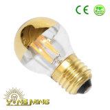 L'ampoule 1With1.5With3.5W de G45/G50 DEL chauffent l'espace libre blanc/l'ampoule de obscurcissement en verre homologation du gel Ce/UL