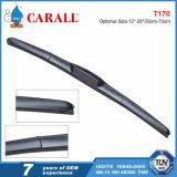 Pièces de voitures intégrées Hybrid Universal Silicone Wiper Blade for Japanese Cars