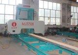 ディーゼル機関を搭載する携帯用水平の材木の製造所