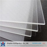 Clear Low Iron Glass Patterned Tempered Solar Panel Glass