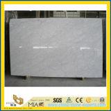 De Witte Marmeren Plak van Carrarra voor Countertop van de Keuken
