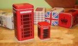 Rectángulo inglés del estaño del té de tarde