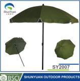 2M Plastikneigung Strand-Regenschirm (SY2007)