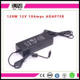 potere di 12V 10AMPS 120W, driver di 10AMPS LED, alimentazione elettrica di DC12V DC24V 120W LED, 120W adattatore, adattatore di 12V 120W 10AMPS